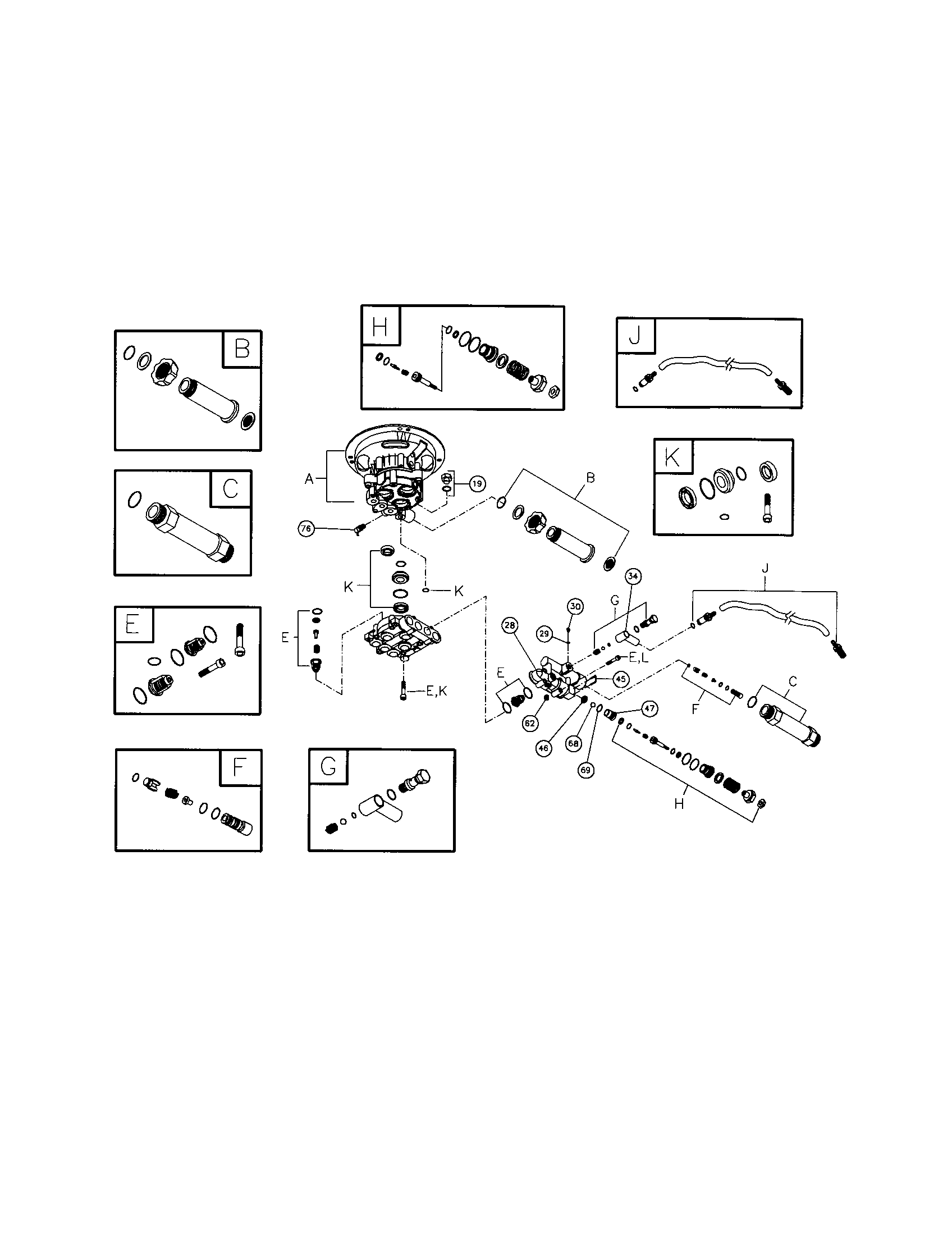 PUMP Diagram & Parts List for Model 0202060 BRIGGS
