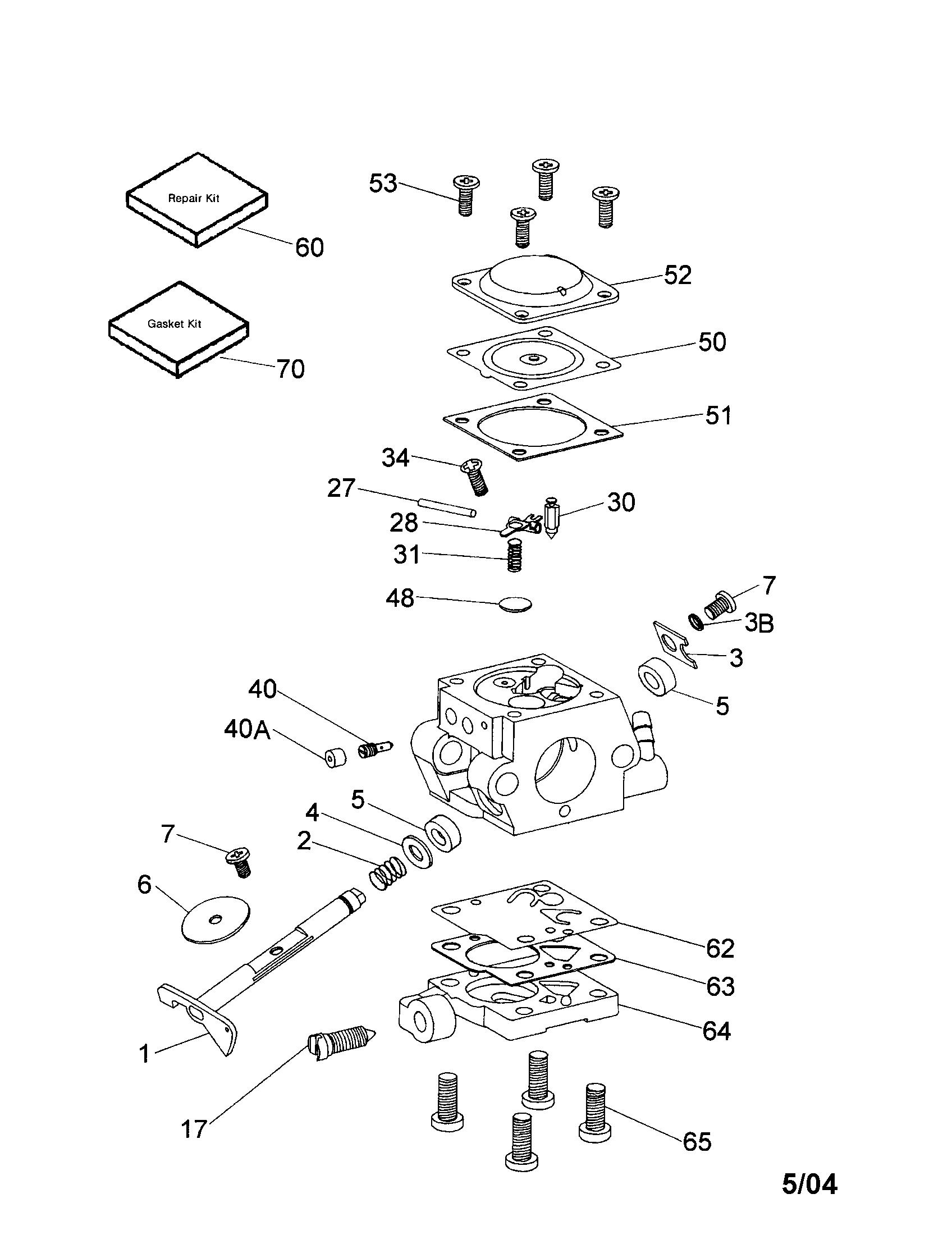 tractor accessories 640347 carburetor diagram [ 1696 x 2200 Pixel ]