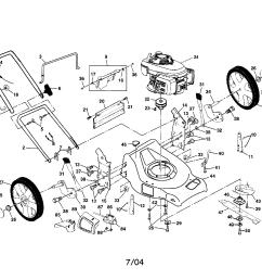 craftsman 917378960 engine housing handle diagram [ 2200 x 1696 Pixel ]