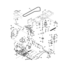 craftsman 917273399 ground drive diagram [ 1696 x 2200 Pixel ]