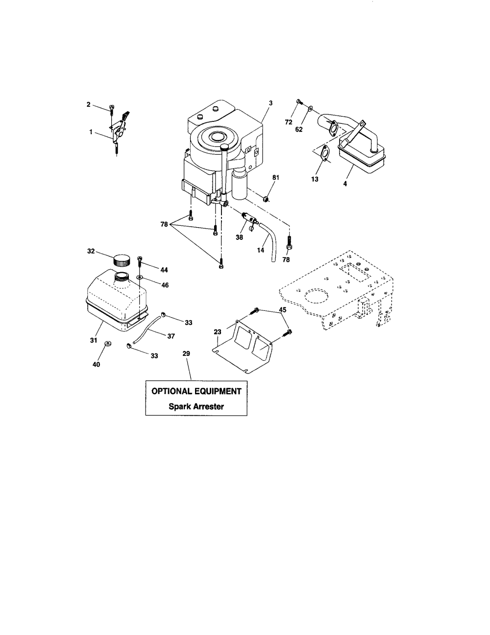 medium resolution of craftsman 917273399 engine diagram