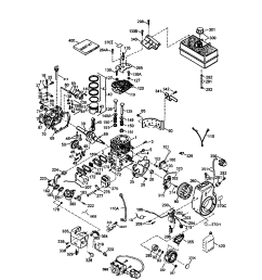 carburetor diagram and parts list for craftsman allproductsparts mg zr horn wiring diagram [ 1696 x 2200 Pixel ]