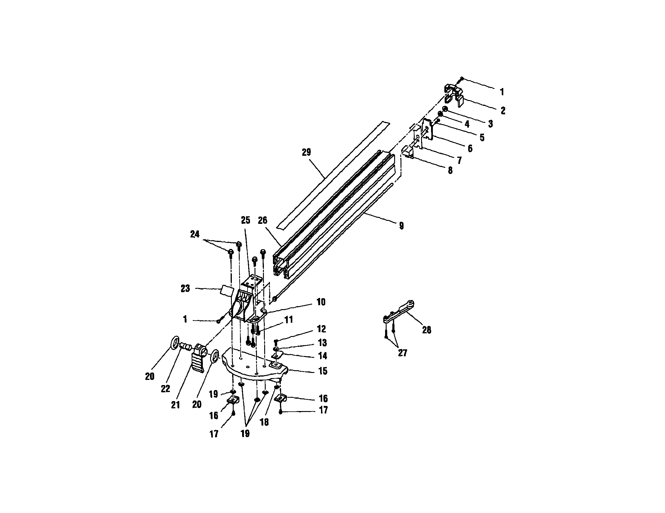 motor assembly diagram parts list for model 823662 emersonparts all