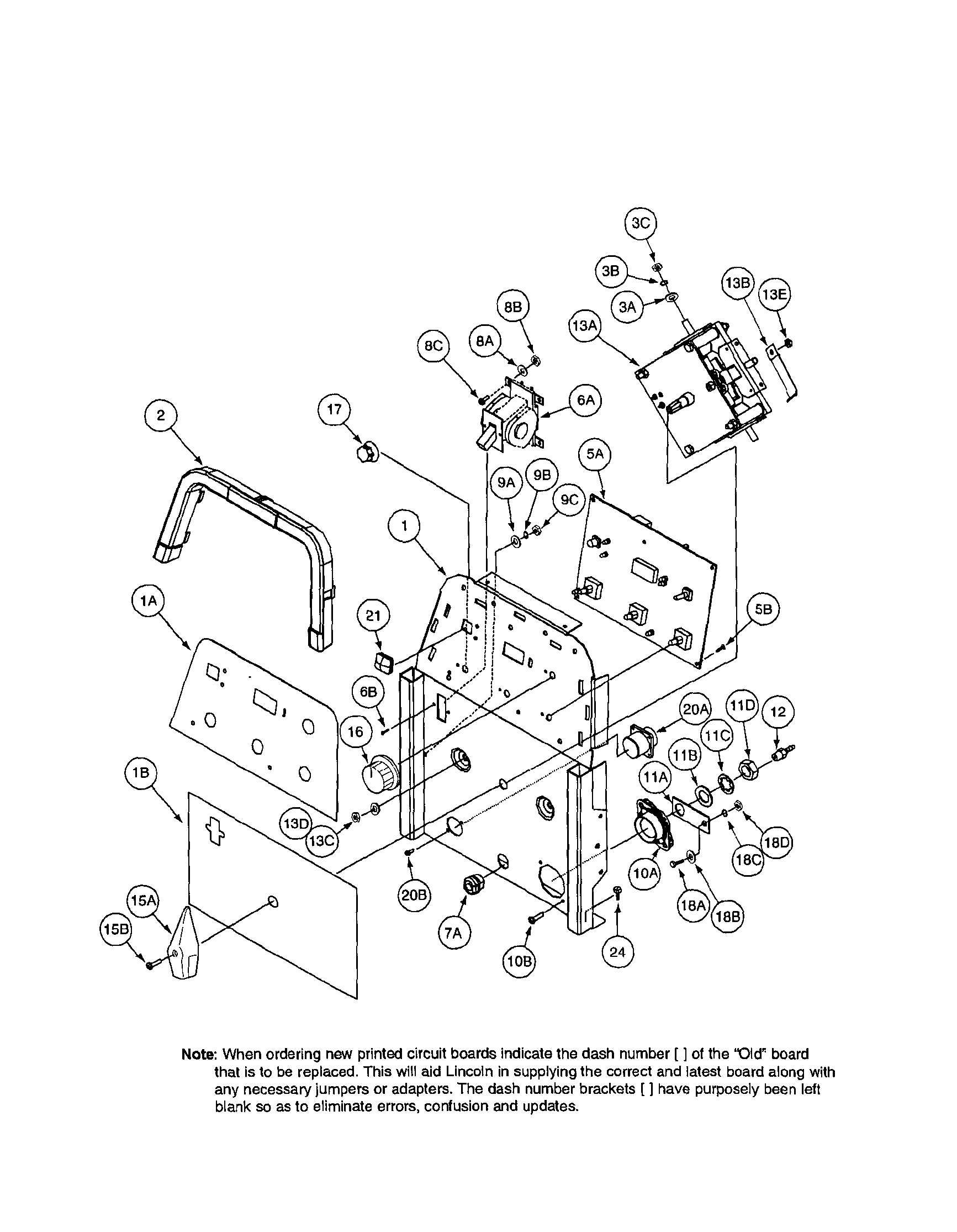 lincoln 203 wiring diagram [ 1733 x 2230 Pixel ]