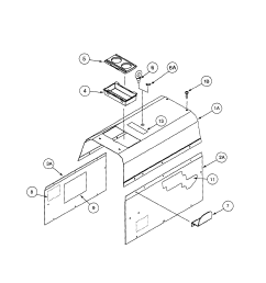 lincoln precision tig 185 11105 to 11109 cover assembly diagram [ 1739 x 2235 Pixel ]