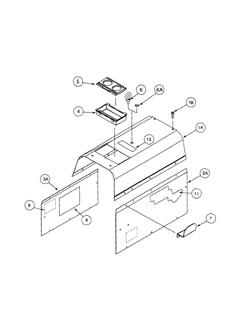 small resolution of lincoln precision tig 185 11105 to 11109 cover assembly diagram