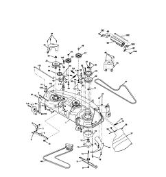 looking for craftsman model 917276320 front engine lawn tractor craftsman 917276320 mower deck diagram [ 1696 x 2200 Pixel ]