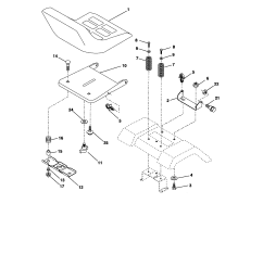 craftsman model 917275820 lawn tractor genuine partswiring diagram craftsman model 917 273820 18 [ 1696 x 2200 Pixel ]