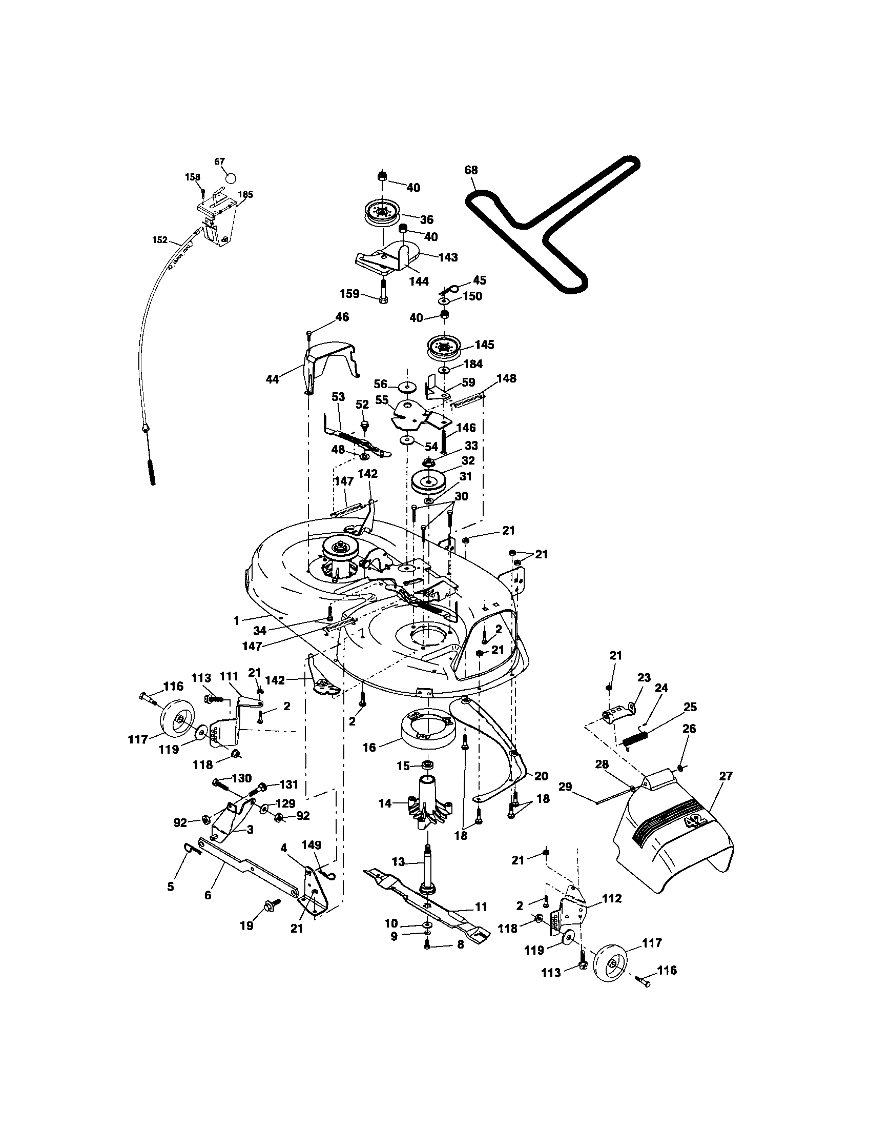 hight resolution of exploded drawing