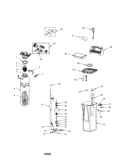small resolution of whirlpool whes40 brine valve body seal diagram
