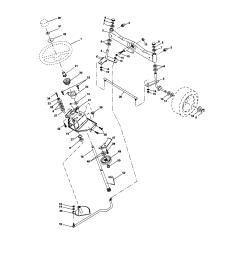 craftsman 917276360 steering diagram [ 1696 x 2200 Pixel ]
