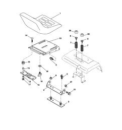 craftsman 917276360 seat assembly diagram [ 1696 x 2200 Pixel ]