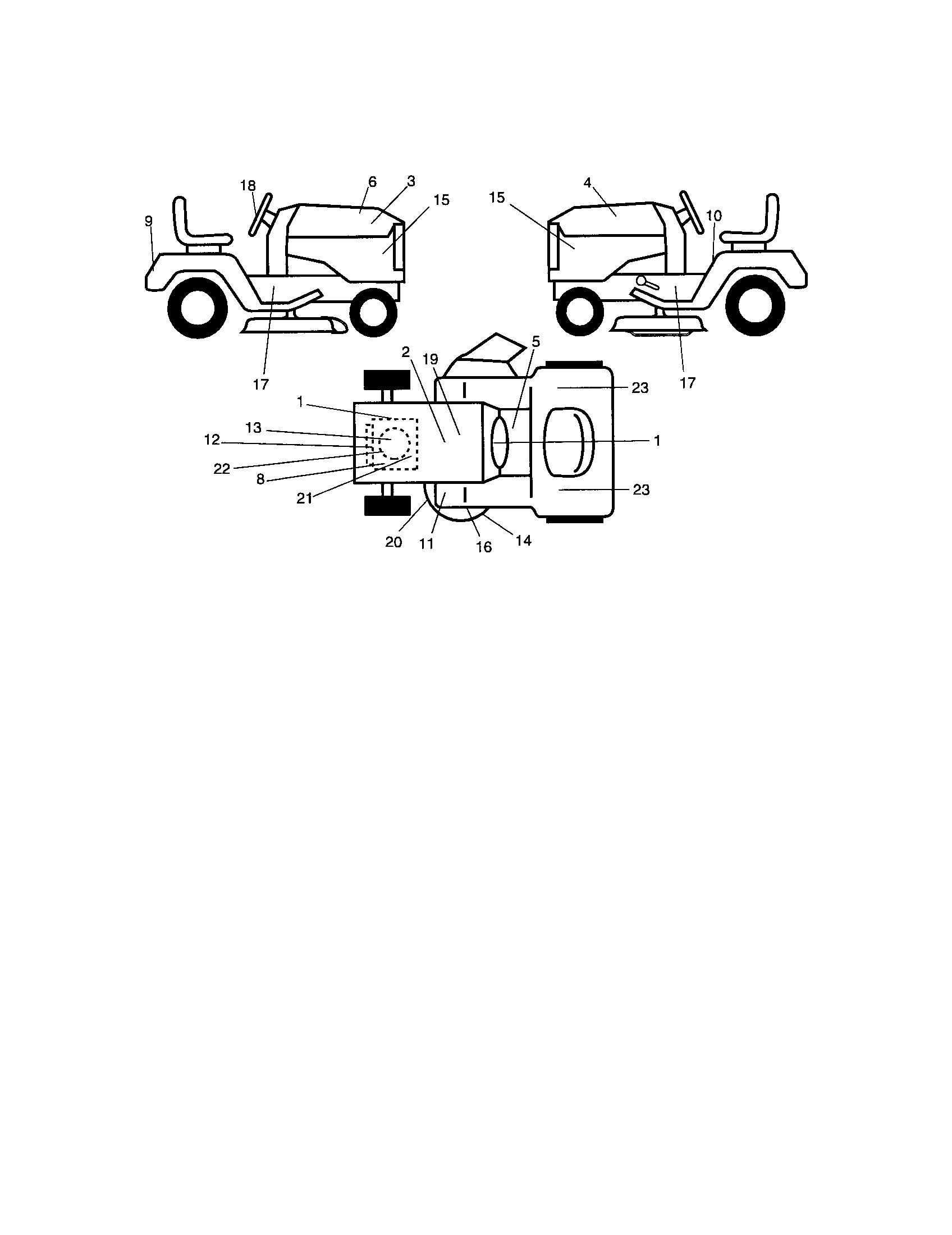 hight resolution of craftsman 917276360 decals diagram