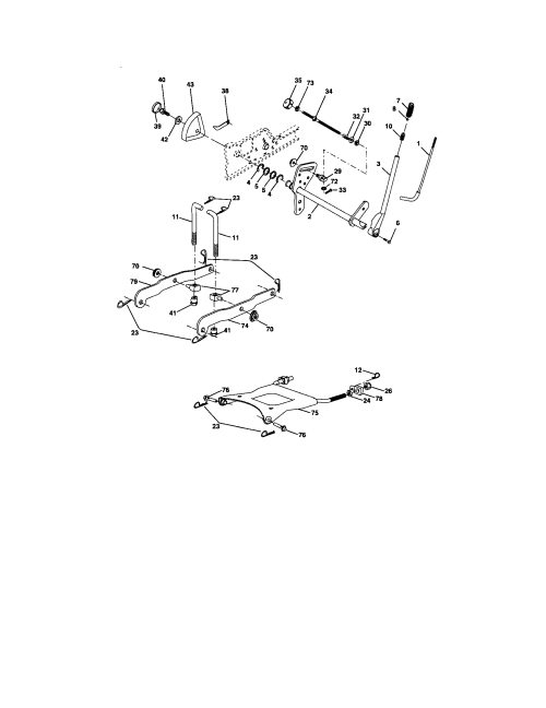 small resolution of electrical craftsman 917276360 lift assembly diagram