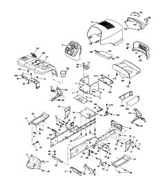 husqvarna logt2254 chassis and enclosures diagram [ 1696 x 2200 Pixel ]