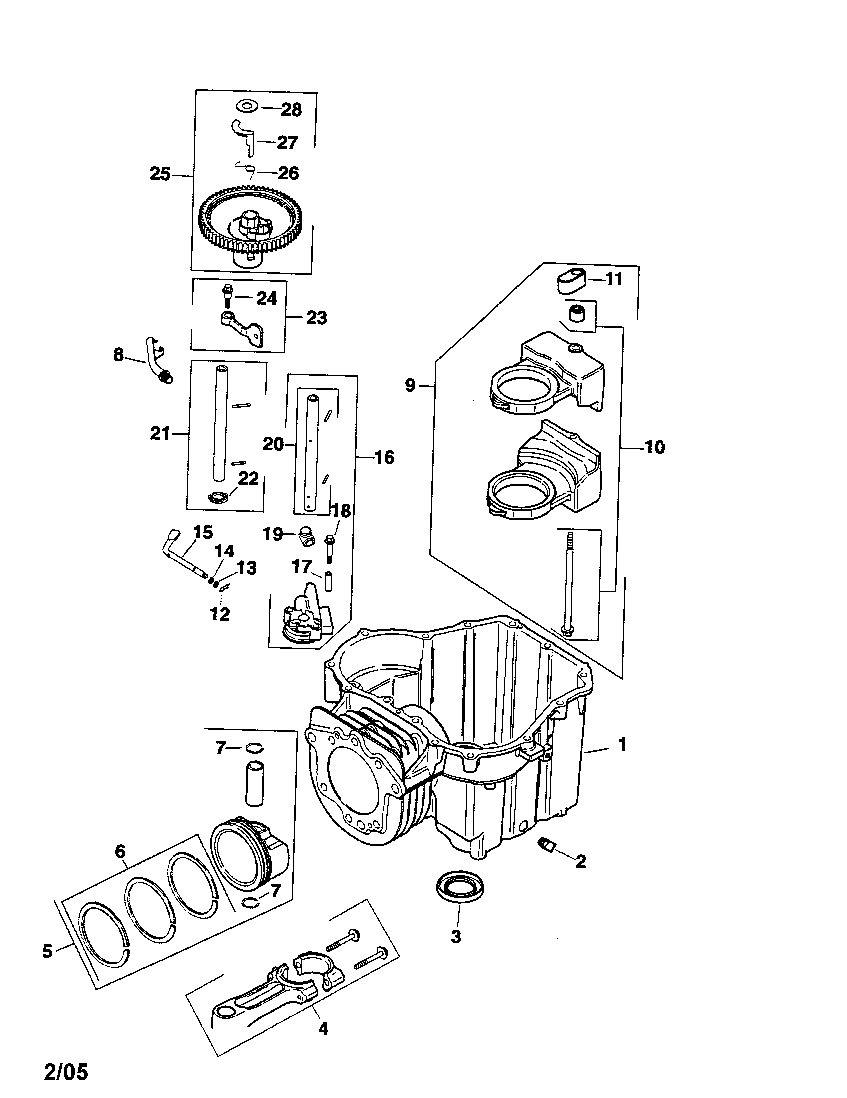 1972 Kohler Engines Parts Diagram, 1972, Free Engine Image
