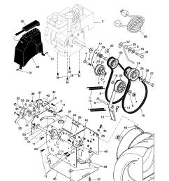 husqvarna hl1027 steb chassis engine pulleys diagram [ 1696 x 2200 Pixel ]