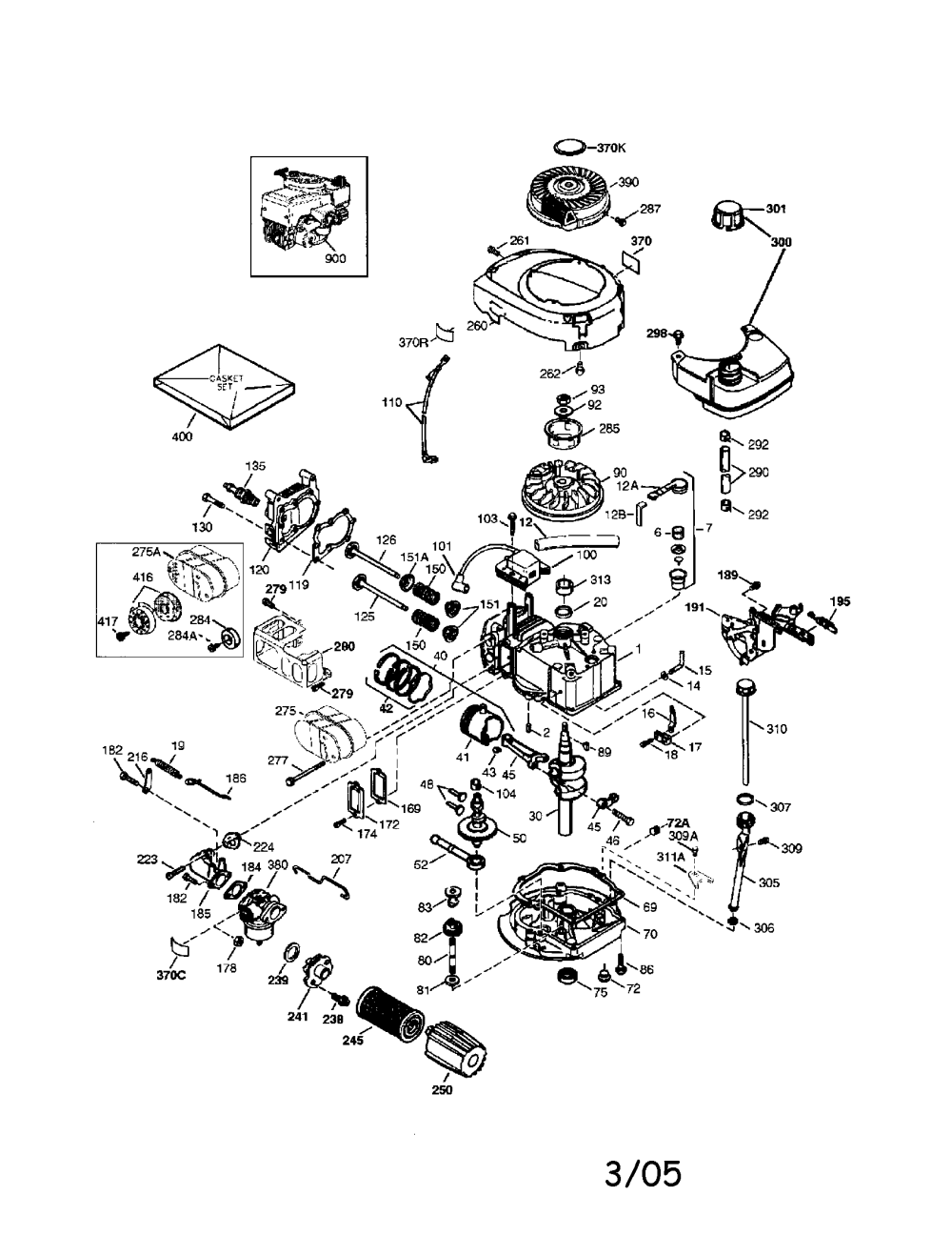 medium resolution of craftsman tecumseh engine parts model 143044500 sears partsdirect rh searspartsdirect com tecumseh engine diagram carburetor tecumseh engine diagrams 0hh60
