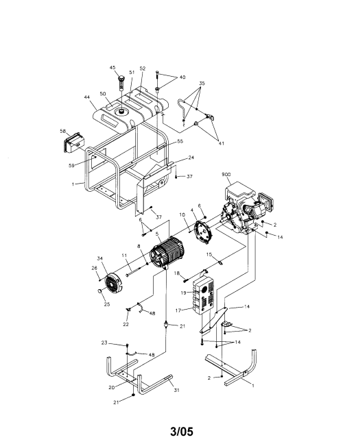 small resolution of craftsman 580325600 main unit diagram