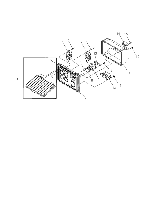 small resolution of craftsman 580325600 control panel diagram