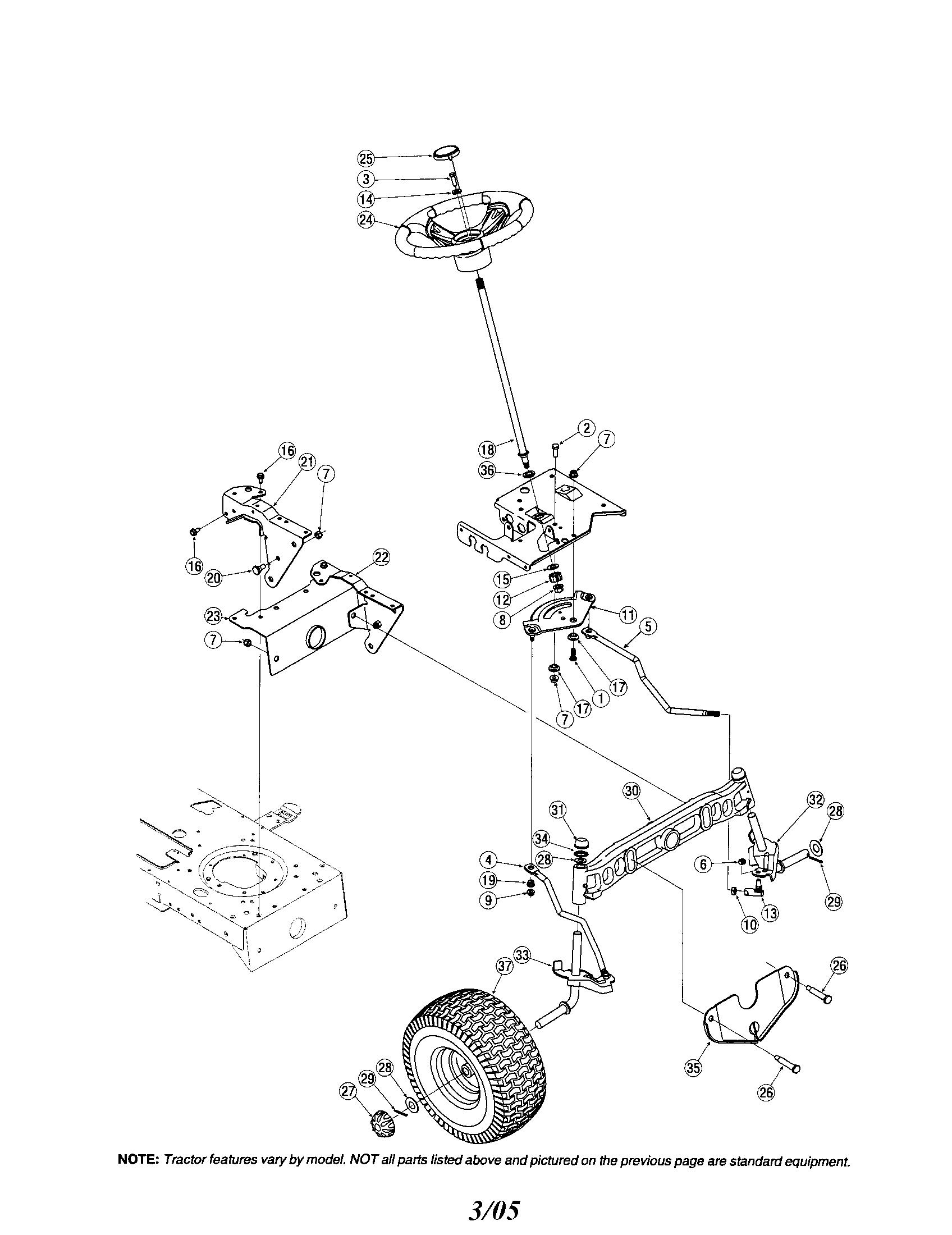 troy bilt mower schematic [ 1696 x 2200 Pixel ]