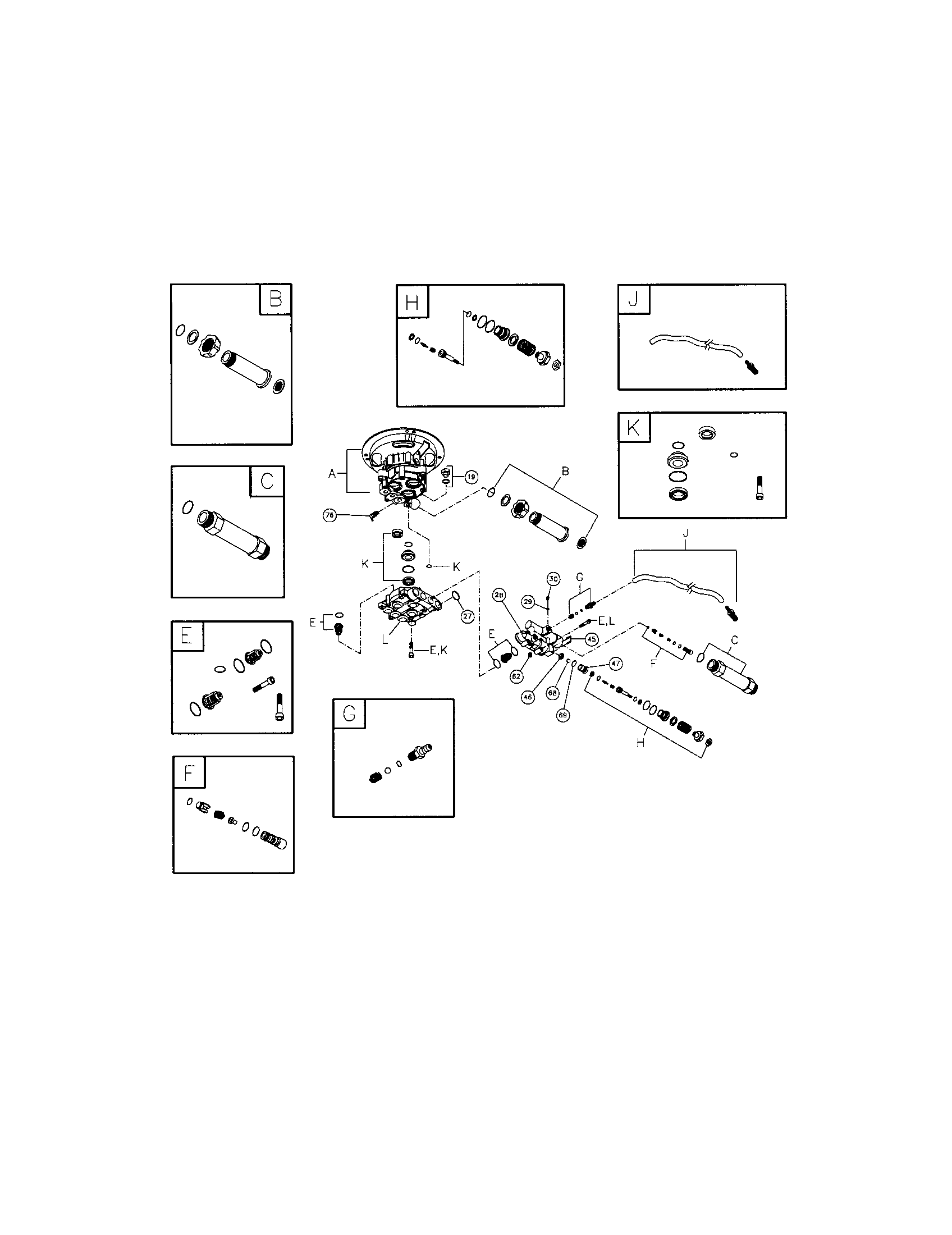 PUMP Diagram & Parts List for Model 020228 BRIGGS-STRATTON