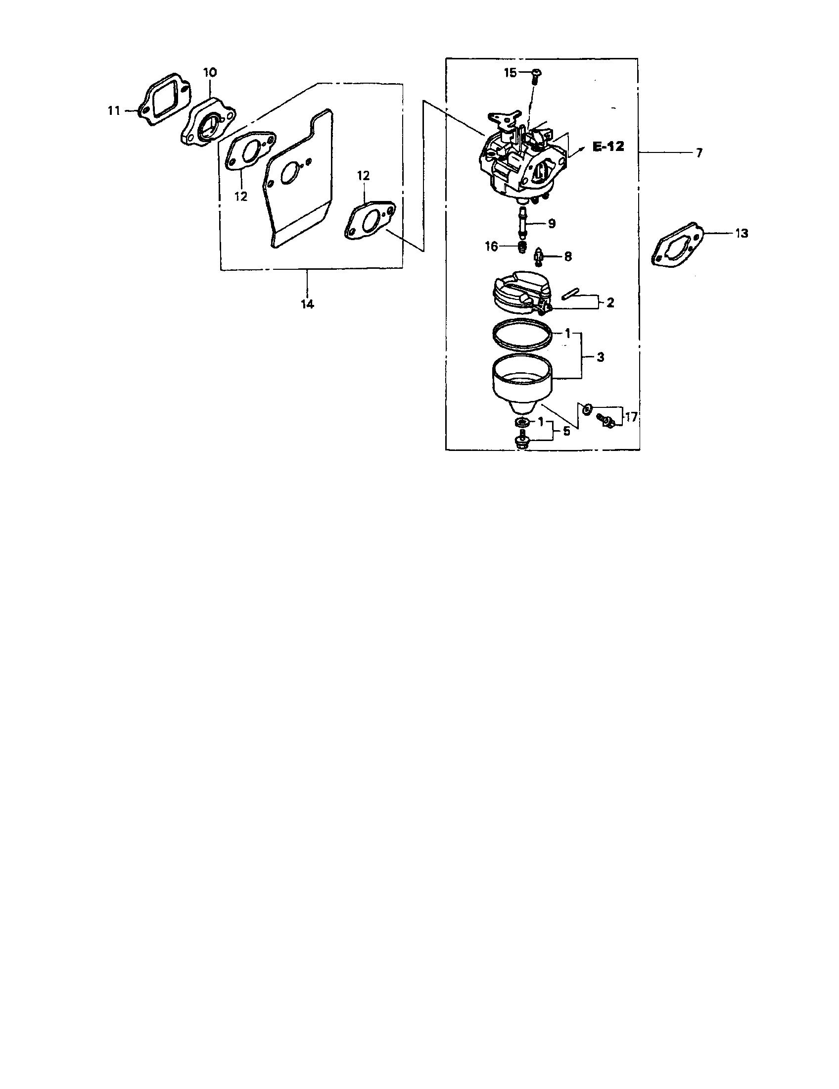 medium resolution of honda gcv160a s3a carburetor diagram