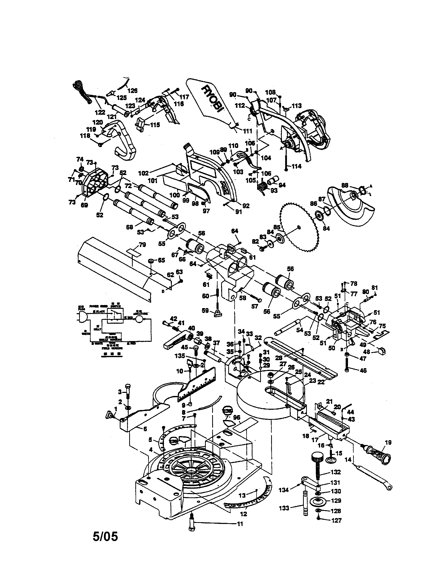 dewalt table saw parts diagram 2000 honda civic distributor wiring de walt miter compound