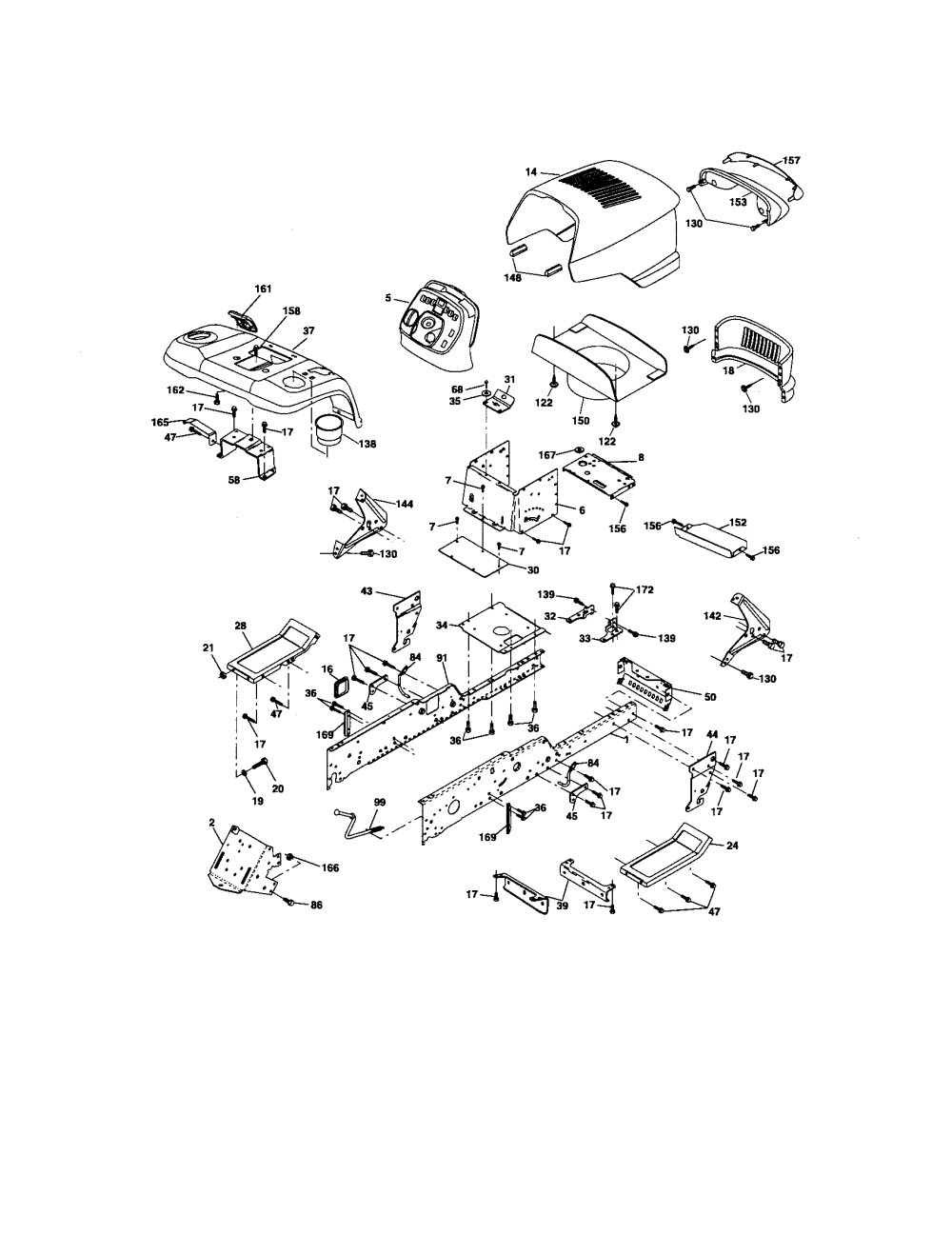 medium resolution of craftsman gt5000 wiring harness