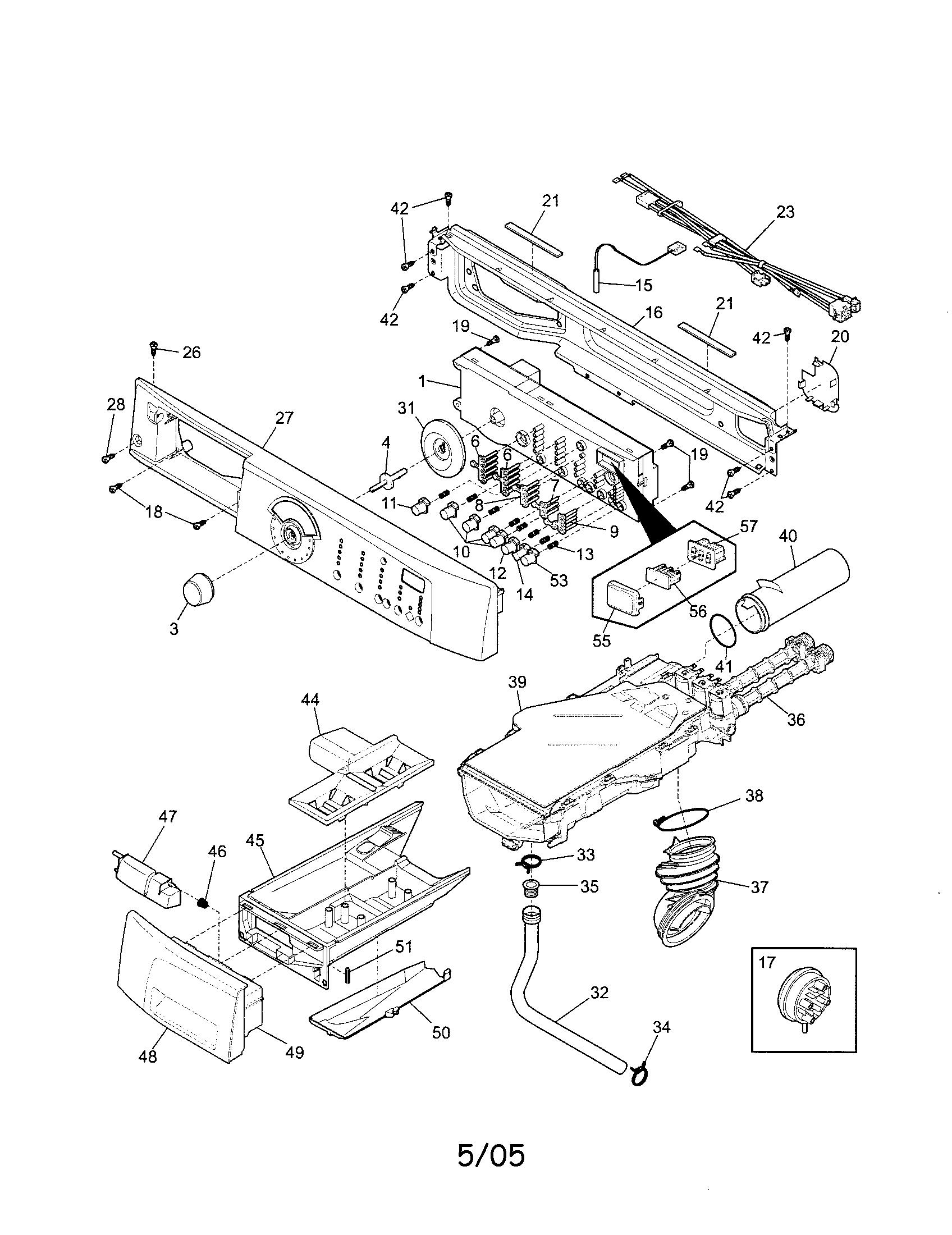 sears model 110 parts diagram rj45 module wiring kenmore washing machine get free