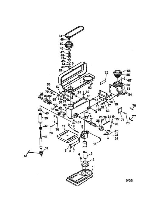 small resolution of ryobi dp100 drill press diagram