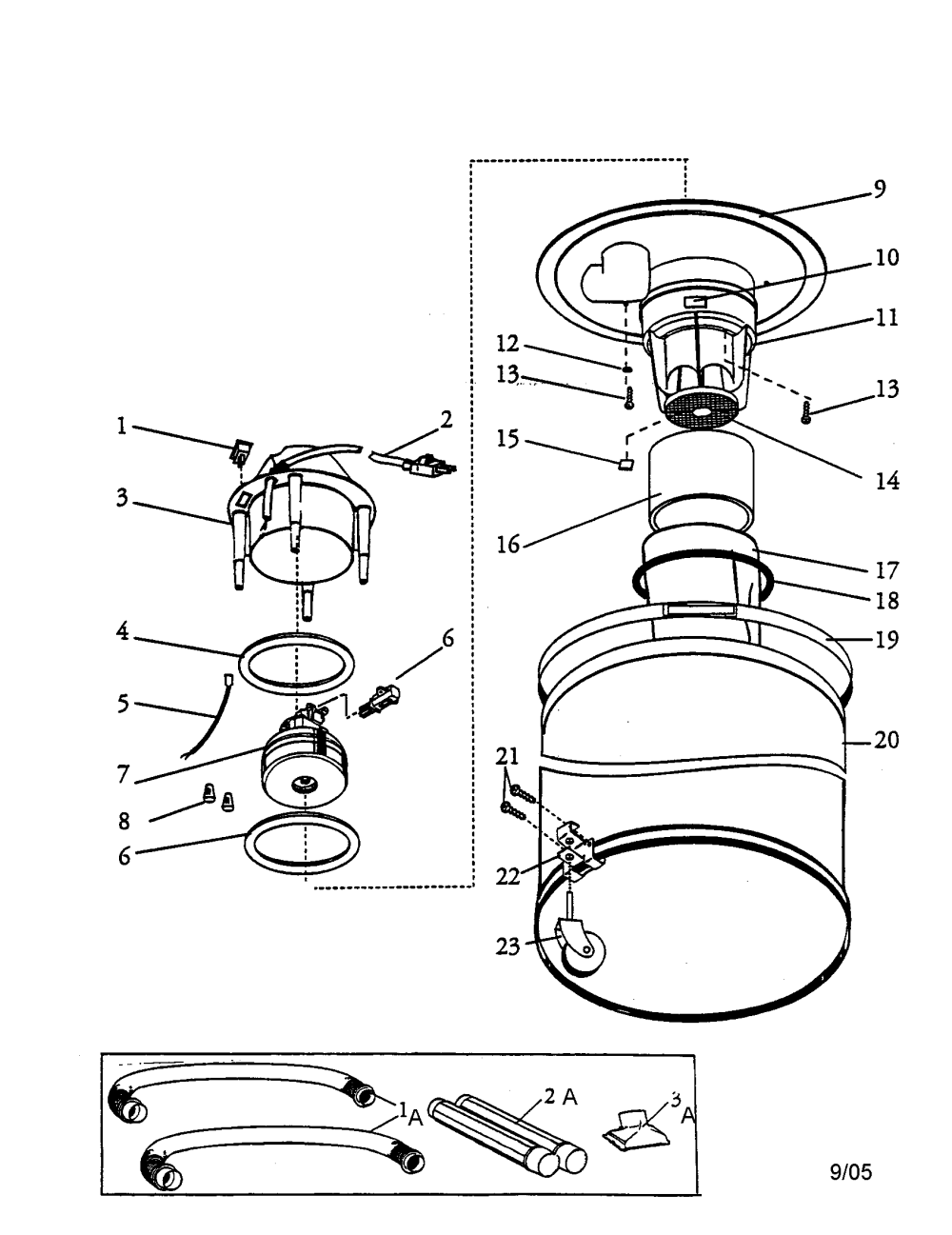 medium resolution of shop vac model 2010 wiring diagram