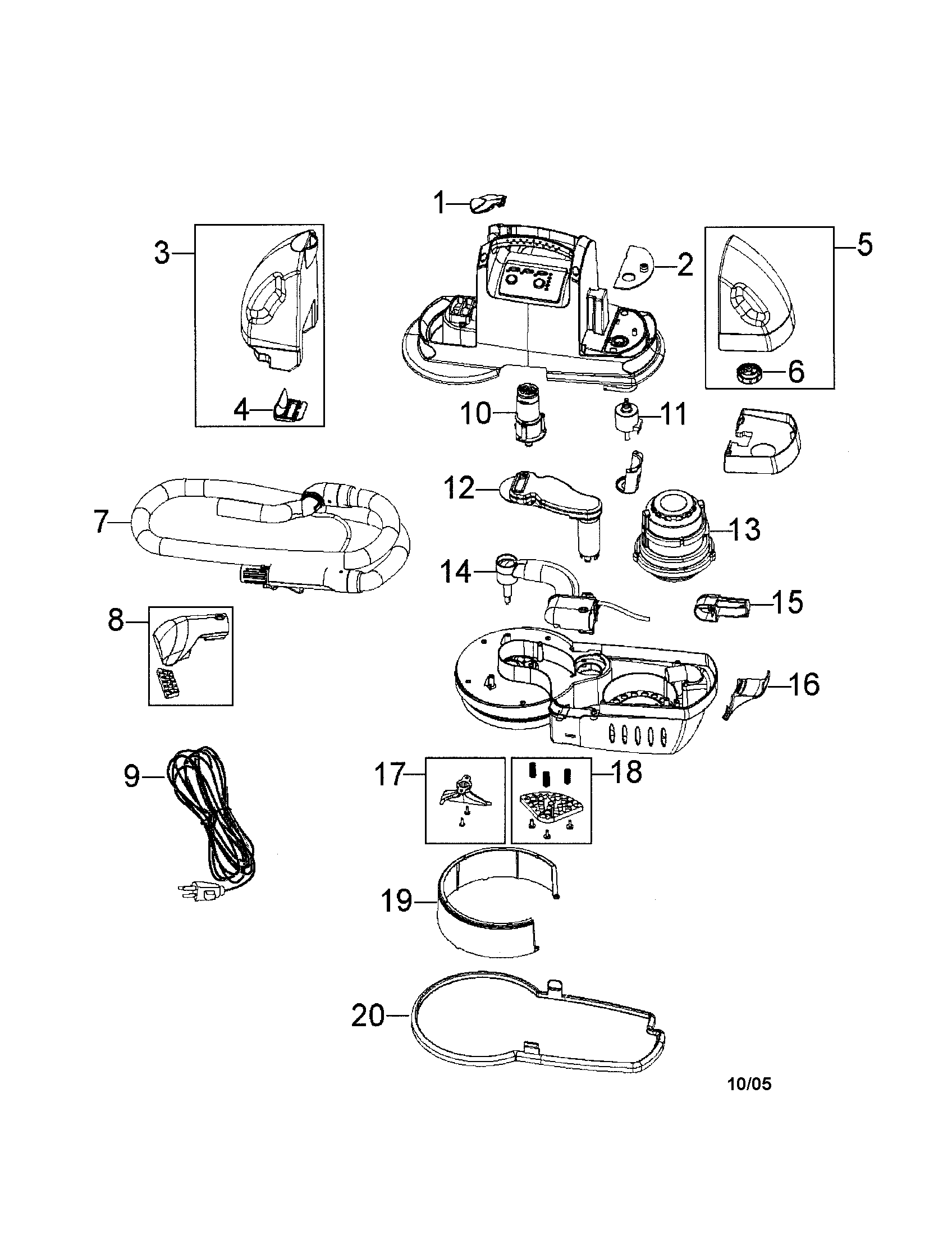 Spotbot Carpet Cleaner Diagram Bissell Handheld Carpet
