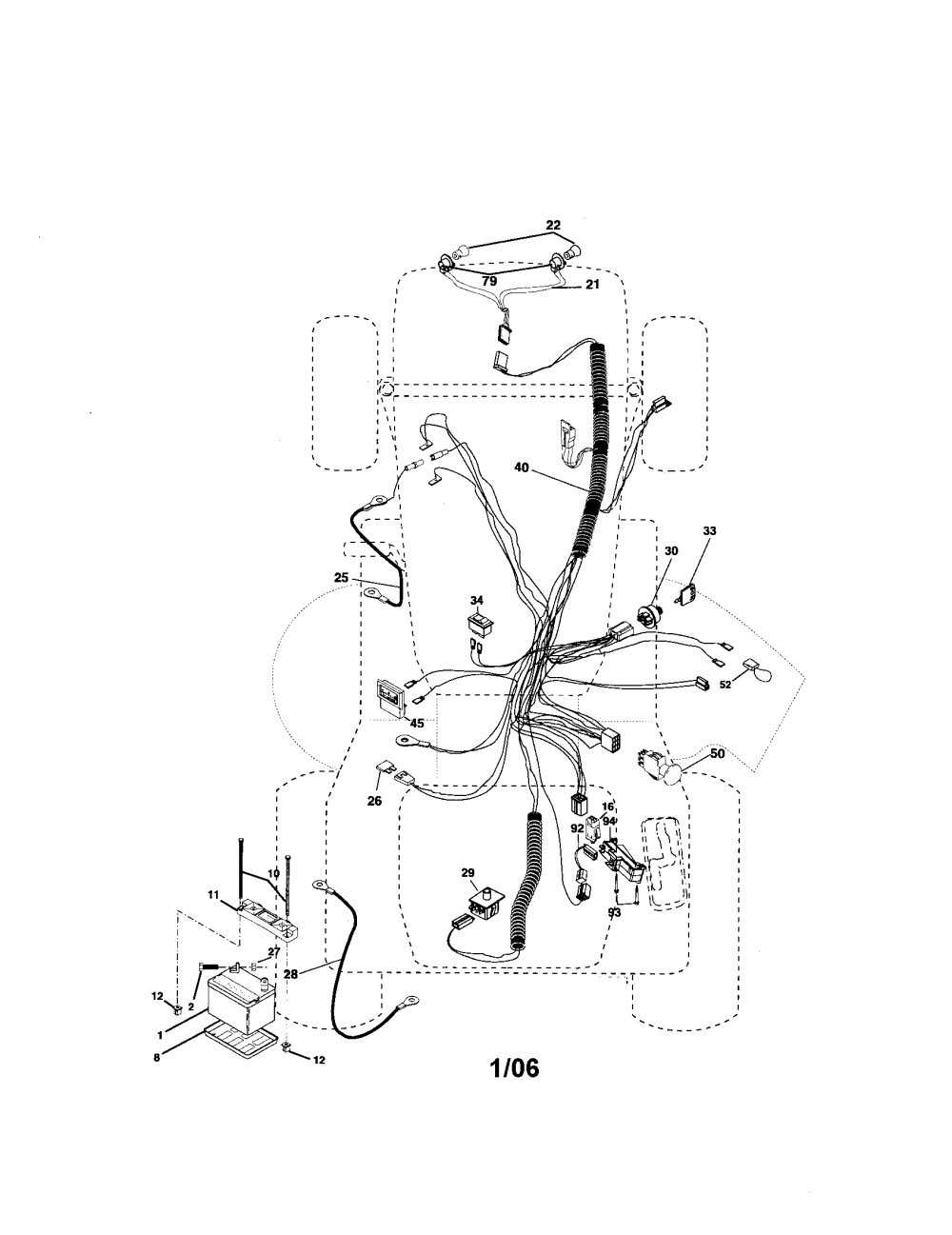 medium resolution of craftsman 917276240 electrical diagram