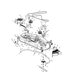 craftsman gt5000 parts wiring diagram [ 1696 x 2200 Pixel ]