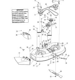 42 deck diagram parts list for model 13an77tg766 troybilt parts [ 1696 x 2200 Pixel ]