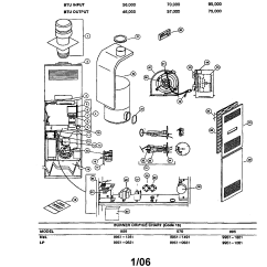 Coleman Evcon Wiring Diagram Thermostat 1990 Ford Super Duty Diagrams Ind Furnace Parts Model Dgat070bda