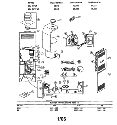coleman evcon ind furnace parts model dgat070bda coleman furnace diagram dgat070bdd coleman furnace diagram [ 1696 x 2200 Pixel ]