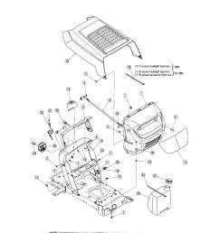 mtd 13am762f765 hood dash models 762 772 diagram [ 1724 x 2223 Pixel ]