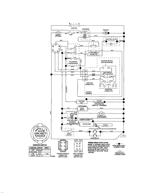small resolution of sears motor wiring diagram wiring diagram schematics dynamark 3 20 snowblower manuals craftsman model 917276630 lawn