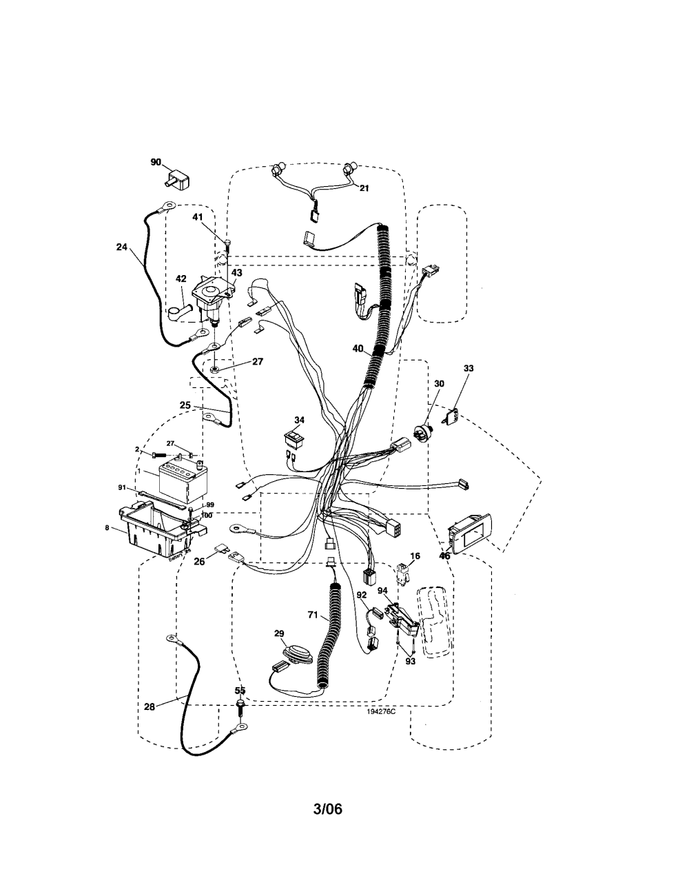 medium resolution of craftsman 917276600 electrical diagram