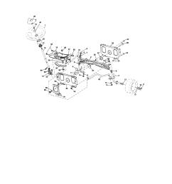 craftsman 917276600 steering assembly diagram [ 1696 x 2200 Pixel ]