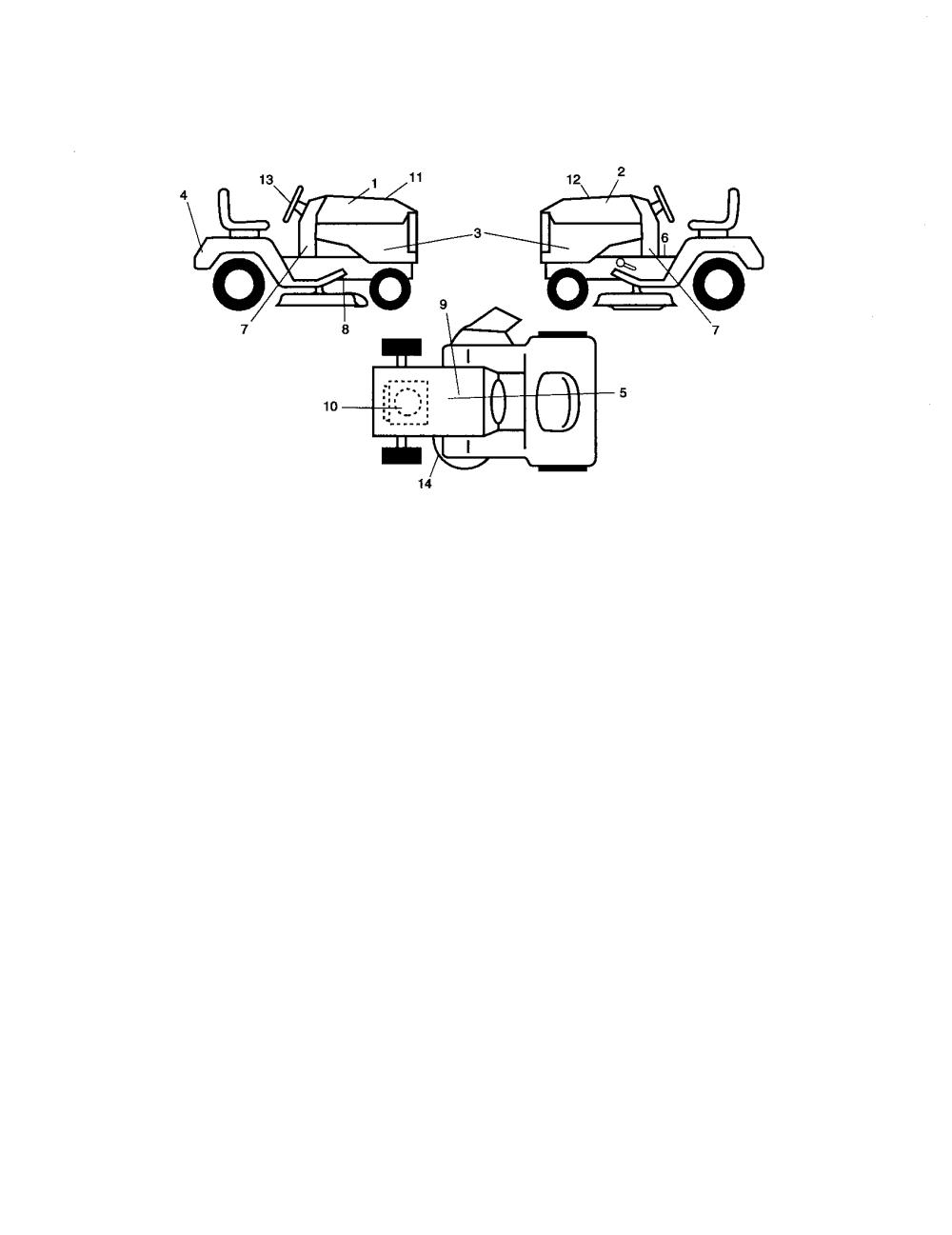 medium resolution of craftsman 917276600 decals diagram