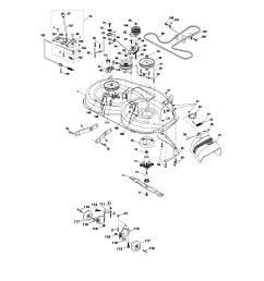 craftsman 917276600 mower deck diagram [ 1696 x 2200 Pixel ]