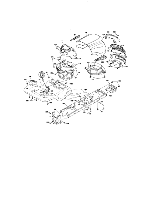 small resolution of craftsman 917276600 chassis and enclosures diagram