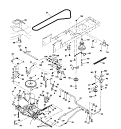 poulan riding mower schematics wiring diagram passlooking for poulan model 96012004401 front engine lawn tractor poulan [ 1696 x 2200 Pixel ]