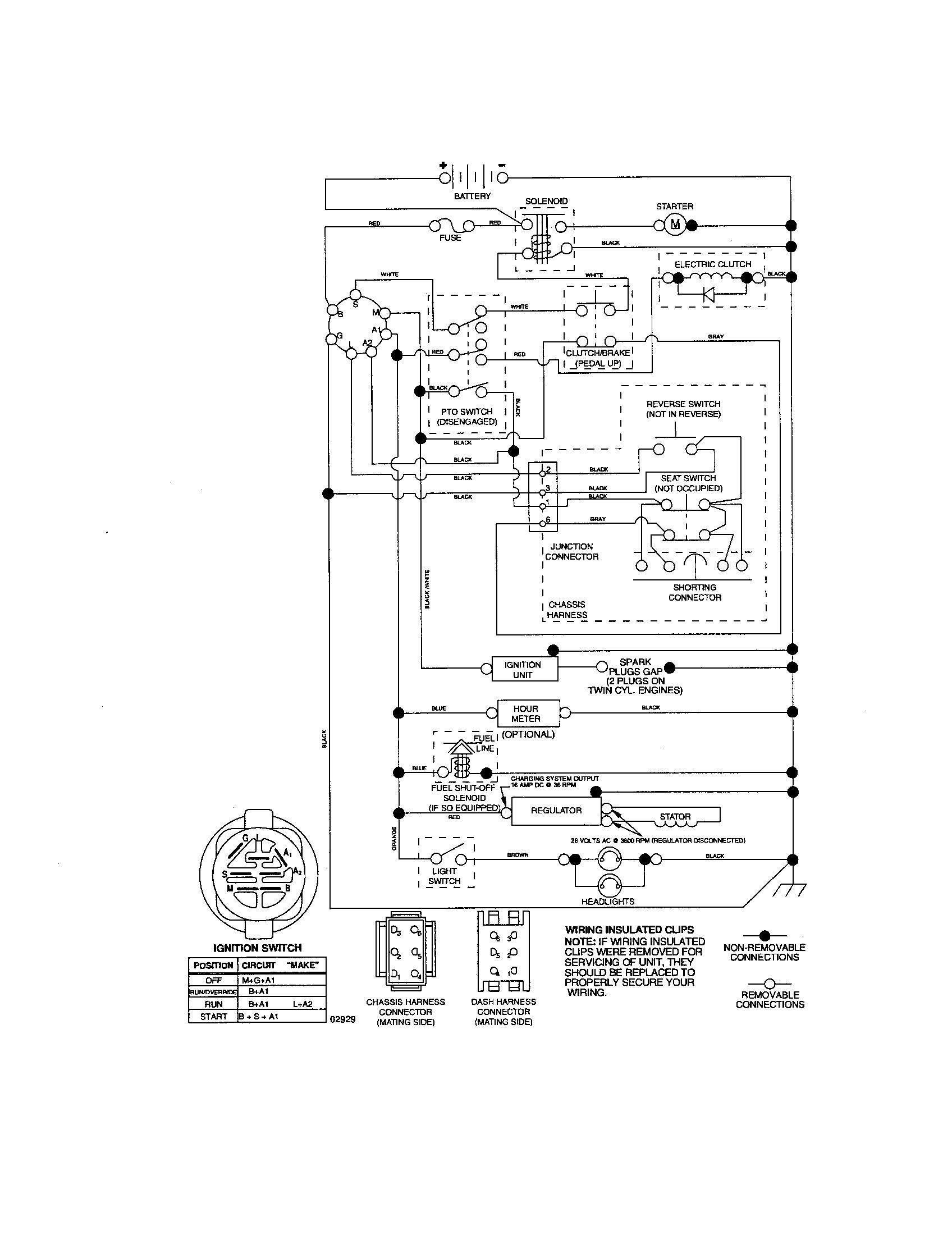 husqvarna lawn tractor wiring diagram towing socket zero turn mower diagrams free
