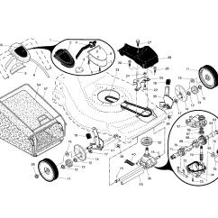 Husqvarna Lawn Mower Parts Diagram Rotary Encoder Wiring Model 917375820 Walk Behind Lawnmower Gas Genuine