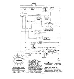 craftsman 917276816 schematic tractor diagram [ 1696 x 2200 Pixel ]