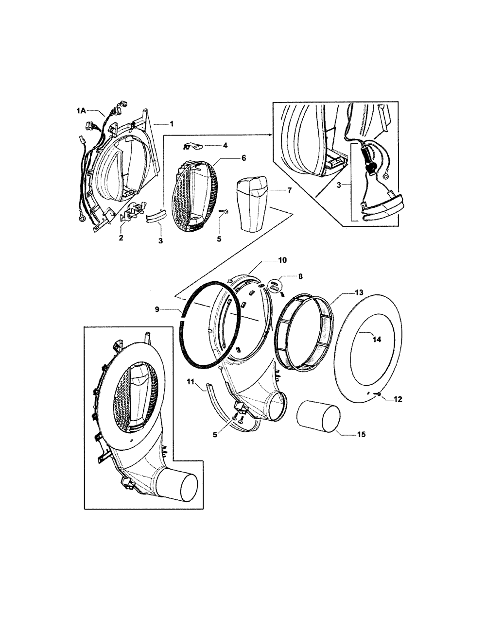 medium resolution of fisher paykel dggx1 96011b outlet duct diagram